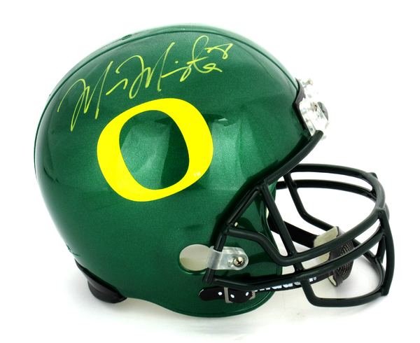 Marcus Mariota Signed Oregon Ducks Riddell Full Size NCAA Helmet