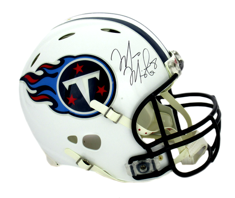 Marcus Mariota Signed Tennessee Titans Riddell Authentic Revolution NFL Helmet