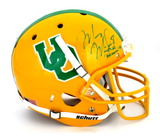 "Marcus Mariota Signed Oregon Ducks Schutt Full Size Throwback Helmet With ""Heisman 14"" Inscription"
