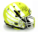 "Marcus Mariota Signed Oregon Ducks Schutt Full Size Yellow Liquid Helmet With ""Heisman 14"" Inscription"