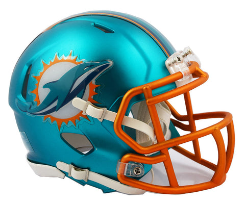 MIAMI DOLPHINS BLAZE SPEED MINI HELMET