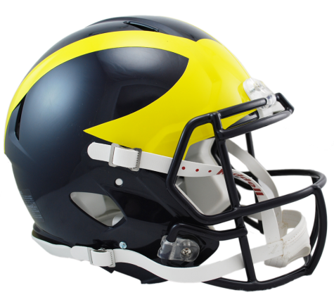 MICHIGAN REVOLUTION SPEED AUTHENTIC HELMET