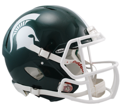 MICHIGAN STATE REVOLUTION SPEED AUTHENTIC HELMET