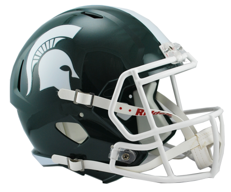 MICHIGAN STATE SPEED REPLICA HELMET