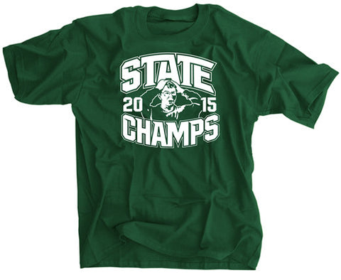 Michigan State Football Champs Shocked Fan Shirt