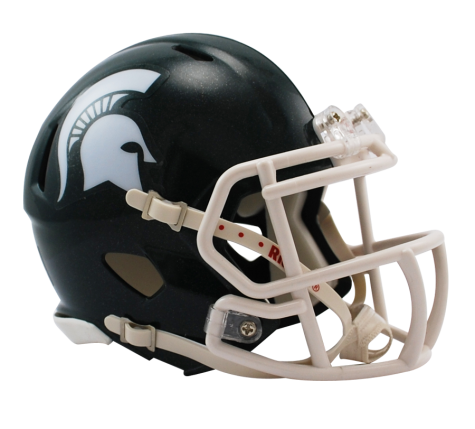 MICHIGAN STATE SPEED MINI HELMET