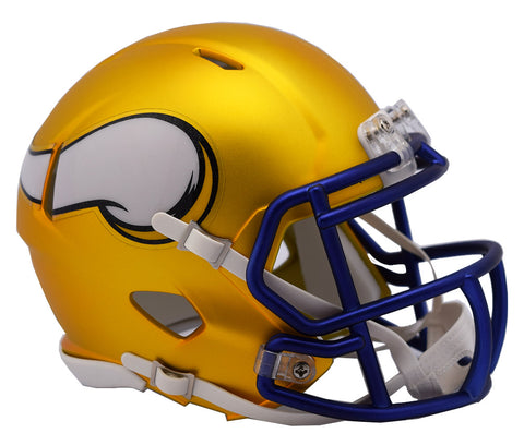 MINNESOTA VIKINGS BLAZE SPEED MINI HELMET
