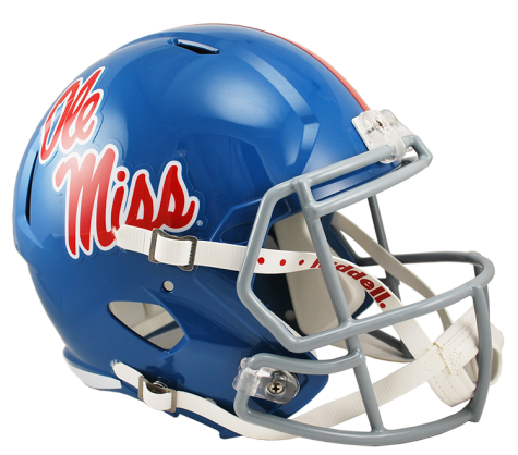 MISSISSIPPI POWDER BLUE SPEED REPLICA HELMET