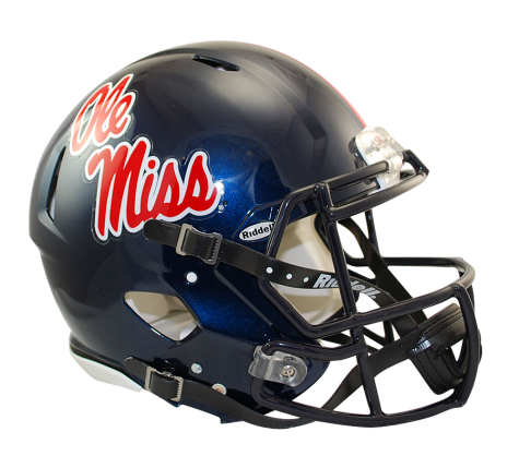 MISSISSIPPI REVOLUTION RIDDELL SPEED AUTHENTIC HELMET