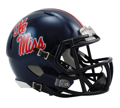 Mississippi Ole Miss Rebels Riddell Speed Mini Helmet - Helmet - SPORTSCRACK