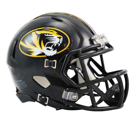 Missouri Tigers Riddell Speed Mini Helmet - Helmet - SPORTSCRACK