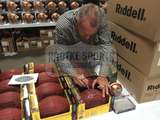 "Joe Montana Autographed/Signed Wilson NFL Duke Football w/ ""4-0 in Super Bowls 11 TD's- 0 int's PERFECT"" Insc (LE/16)"