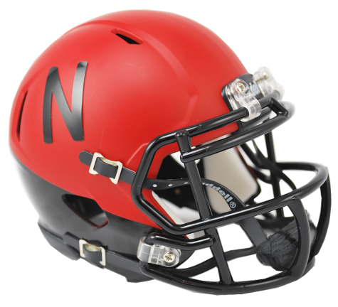 Nebraska Cornhuskers 2014 Alternate Riddell Speed Mini Helmet