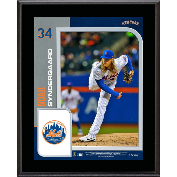 Noah Syndergaard New York Mets 10.5'' x 13'' Sublimated Player Plaque