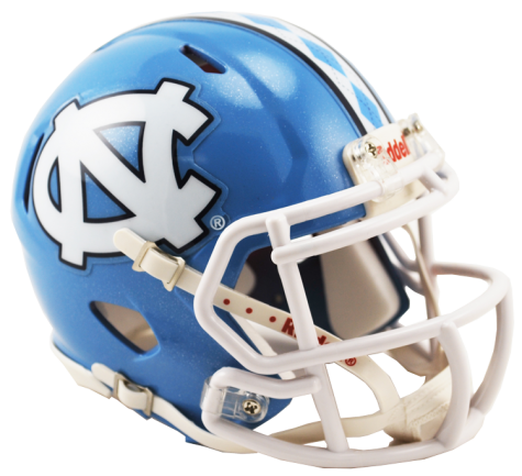North Carolina Tarheels Riddell Speed Mini Helmet