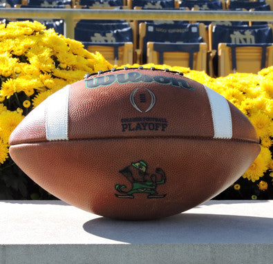 NOTRE DAME GAME MODEL AUTHENTIC GST WILSON COLLEGE FOOTBALL PLAYOFF FOOTBALL