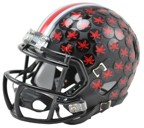 Ohio State Buckeyes 2015 Alternate Riddell Speed Mini Helmet