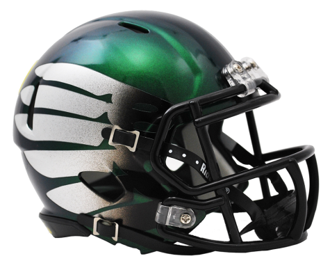 OREGON TITANIUM THUNDER GREEN SPEED MINI HELMET - Helmet - SPORTSCRACK