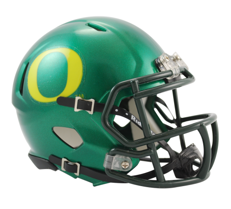 Oregon Ducks Riddell Speed Mini Helmet - Helmet - SPORTSCRACK