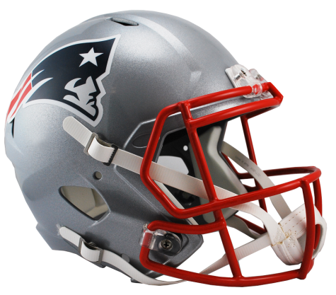 NEW ENGLAND PATRIOTS SPEED REPLICA HELMET - Helmet - SPORTSCRACK