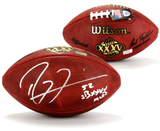 "Ray Lewis Signed Wilson Authentic Super Bowl 35 NFL Football With ""SB XXXV MVP"" Inscription - Memorabilia - SPORTSCRACK - 1"