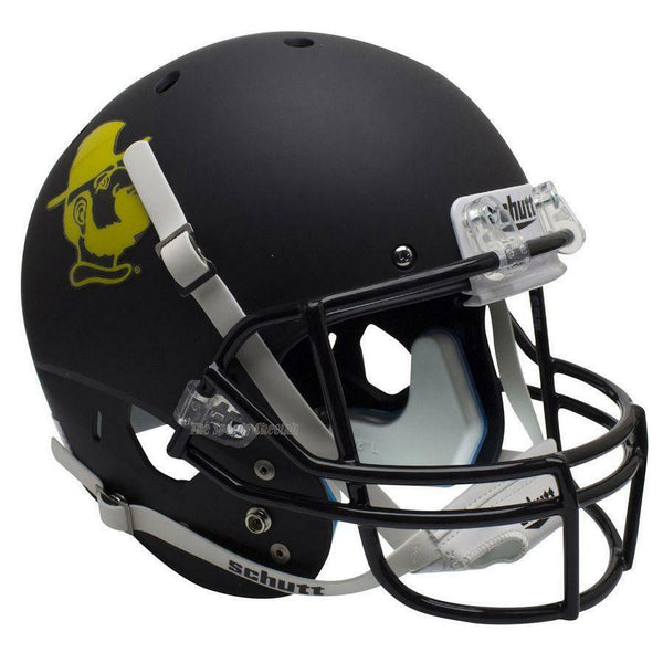 APPALACHIAN STATE MOUNTAINEERS YOSEF BLACK XP FULL SIZE REPLICA FOOTBALL HELMET