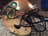 Notre Dame Football 2015 Shamrock Series Cole Luke Game Used Worn Helmet #36