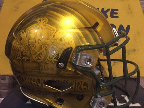 Notre Dame 2016 Shamrock Series Authentic Riddell Speed Helmet