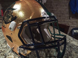 Notre Dame Football 2015 Shamrock Series Nyles Morgan Game Used Worn Helmet #5