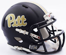 Pittsburgh Panthers MATTE NAVY Riddell Speed Mini Helmet