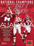 AJ McCarron Autographed/Signed Alabama Sports Illustrated - BCS Preview Edition