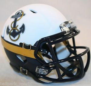 Navy Midshipmen 2012 Riddell Speed Mini Helmet - Helmet - SPORTSCRACK