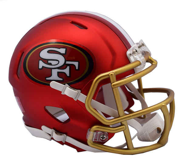 SAN FRANCISCO 49ERS BLAZE SPEED MINI HELMET
