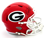 Matthew Stafford Signed Georgia Bulldogs Riddell Full Size Speed Helmet