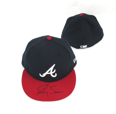 Dansby Swanson Signed Atlanta Braves MLB New Era Fitted Hat
