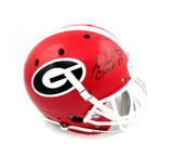 "Fran Tarkenton Signed Georgia Bulldogs Schutt Full Size Helmet With ""CHOF 87"" Inscription"