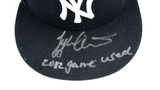 "Tyler Austin Signed Game Used New York Yankees Minor League Hat With ""2012 Game Used"" Inscription"