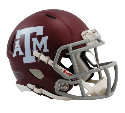 Texas A&M Riddell Speed Mini Helmet