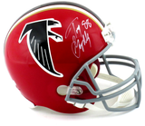 Tony Gonzalez Signed Atlanta Falcons Riddell Throwback Full Size NFL Helmet