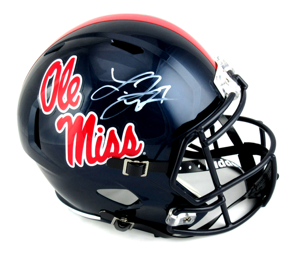 Laquon Treadwell Signed Ole Miss Rebels Riddell Speed Full Size NCAA Helmet