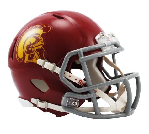 USC Trojans Riddell Speed Mini Helmet