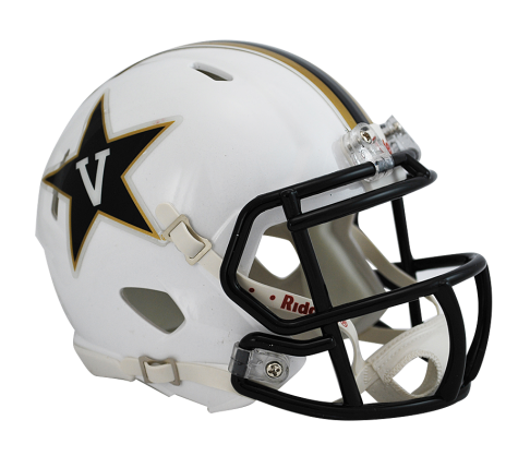 Vanderbilt White Riddell Speed Mini Helmet