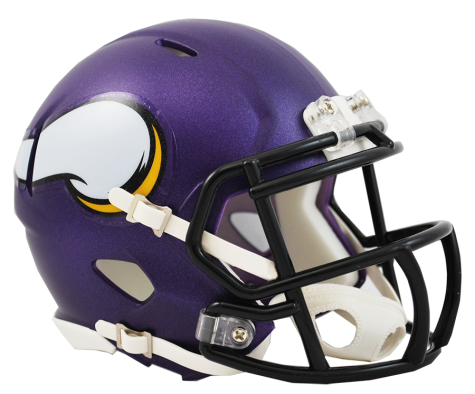 MINNESOTA VIKINGS SPEED MINI HELMET