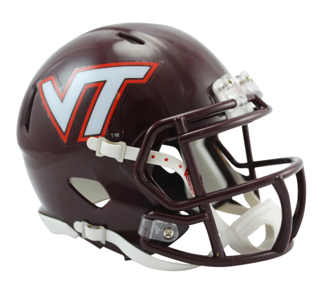 Virginia Tech Riddell Speed Mini Helmet