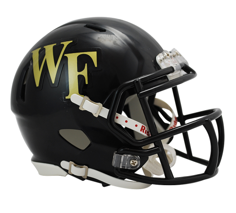 Wake Forest Riddell Speed Mini Helmet