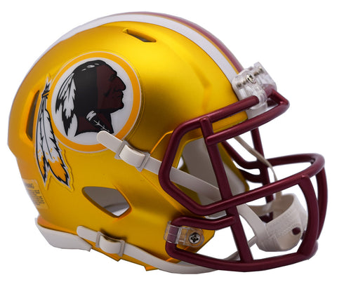 WASHINGTON REDSKINS BLAZE SPEED MINI HELMET