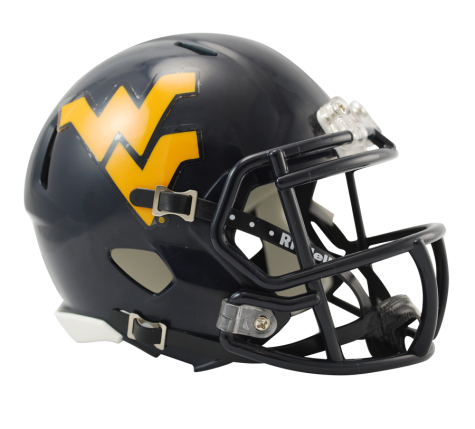 West Virginia Mountaineers Riddell Speed Mini Helmet
