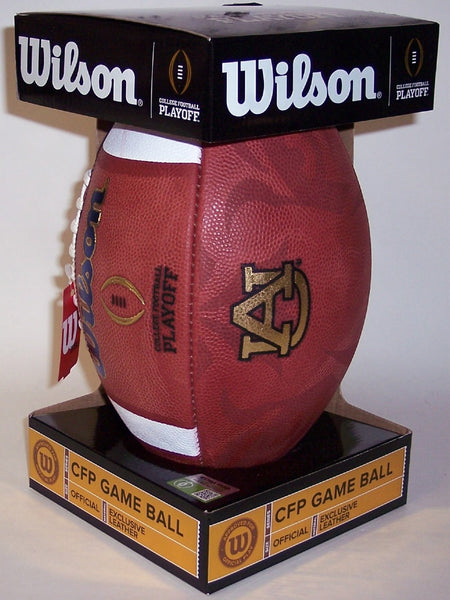 Wilson Official Leather Auburn Tigers NCAA Football - F1011IDG