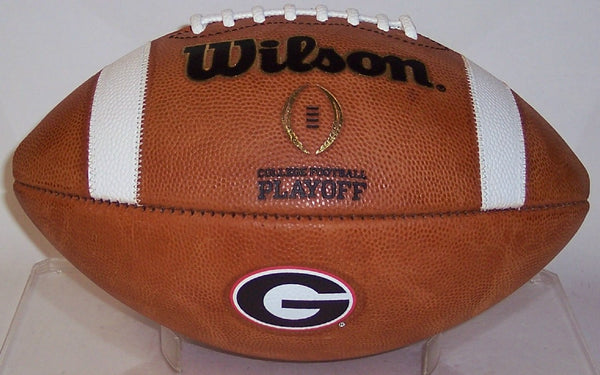 GEORGIA BULLDOGS GAME MODEL AUTHENTIC WILSON COLLEGE FOOTBALL PLAYOFF FOOTBALL