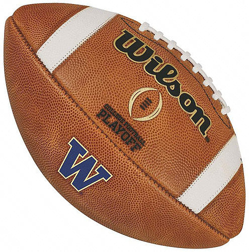 WASHINGTON HUSKIES GAME MODEL AUTHENTIC WILSON COLLEGE FOOTBALL PLAYOFF FOOTBALL